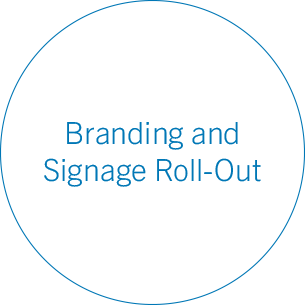 Branding and Signage Roll-Out